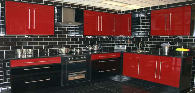 Space Red Kitchen - £995